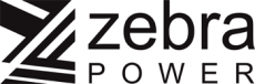 Energy supplier: Zebra Power Logo